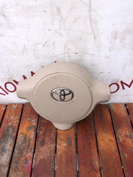 Airbag водительский Toyota Porte NNP10 1NZ-FE 2006