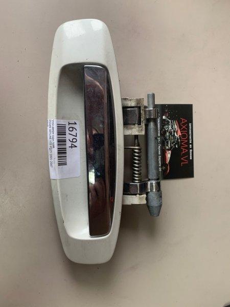Ручка двери Nissan Skyline V35 VQ25 2001 задняя правая