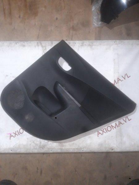 Обшивка дверей Toyota Ractis NCP120 1NZ-FE 2010 задняя правая