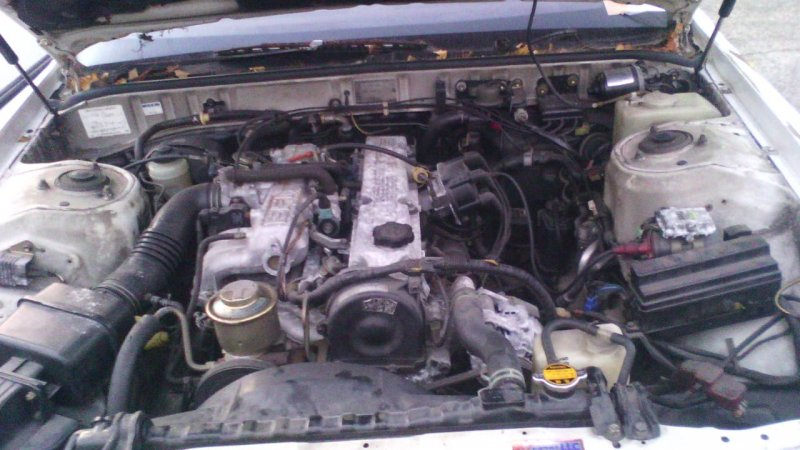 Двигатель Toyota Markii GX71 1G-EU 1984