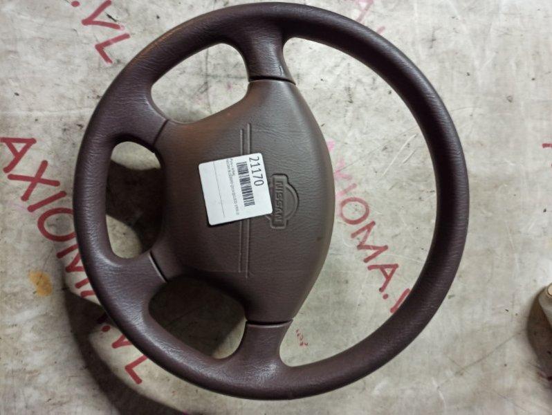Руль с airbag Nissan Blueberd QU14 QG18DD 1998