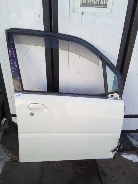 Дверь Daihatsu Move L152S EF 2002 передняя правая