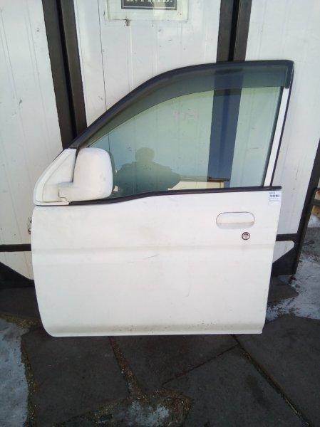 Дверь Honda Life JB1 E07Z 1998 передняя левая