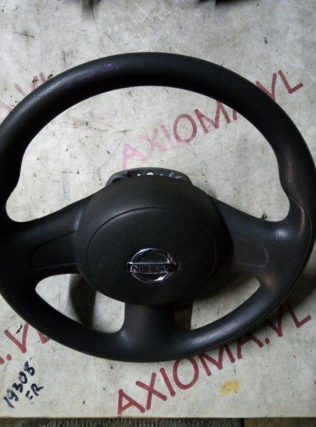 Руль с airbag Nissan Cube Z12 HR15 2008