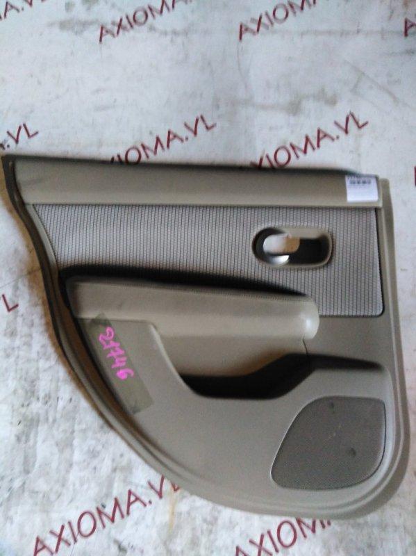 Обшивка дверей Nissan Tiida C11 HR15 2004 задняя левая