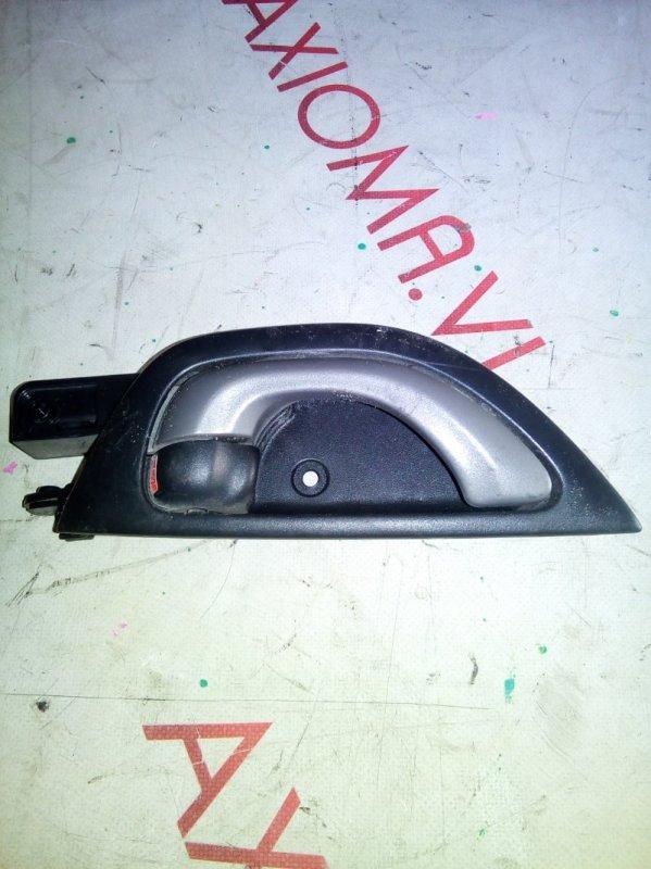 Ручка двери внутренняя Honda Fit GE6 L13A 2007 задняя правая