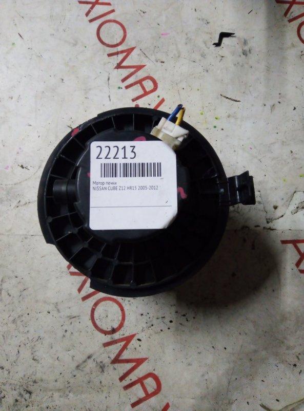 Мотор печки Nissan Cube Z12 HR15 2005