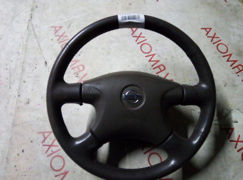 Руль с airbag Nissan Bluebird Sylphy QG10 QG18DE 2000