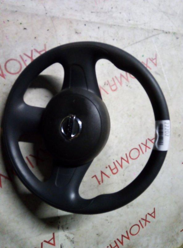 Руль с airbag Nissan Cube Z12 HR15 2005