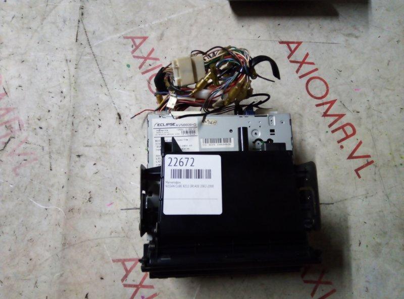 Магнитофон Nissan Cube BZ11 CR14DE 2002