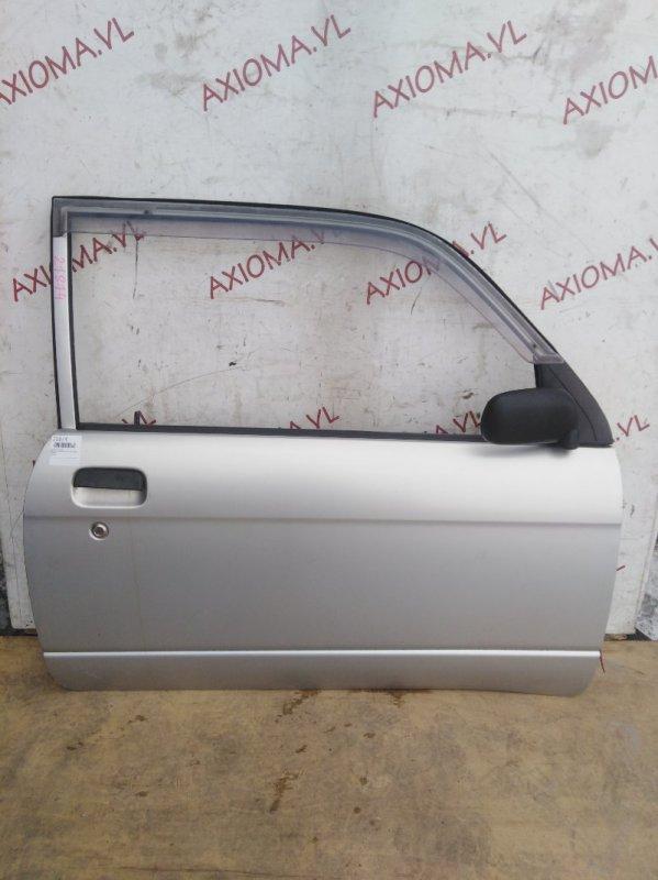 Дверь Daihatsu Mira L700S EF-SE 1998 передняя правая