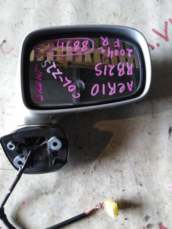 Зеркало Suzuki Aerio RB21S M15A 2003 правое