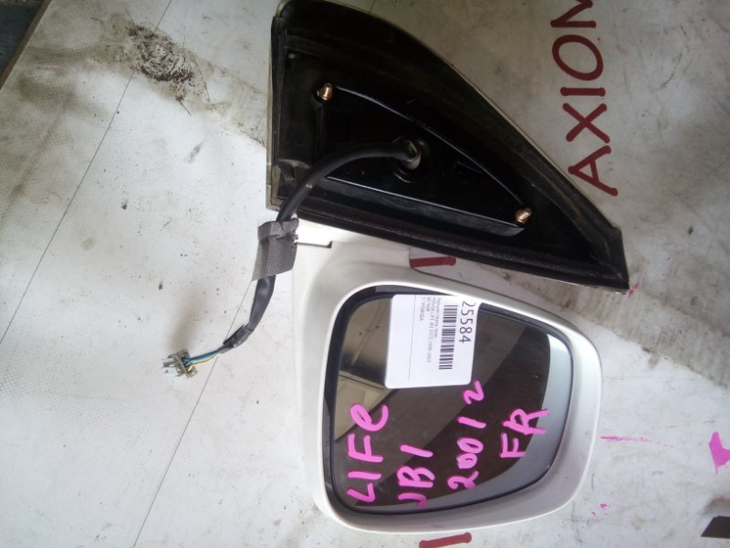 Зеркало Honda Life JB1 E07Z 1998 правое