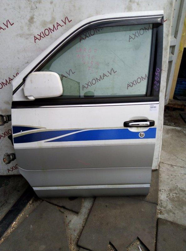 Дверь Nissan Largo W30 KA24DE 1993 передняя левая
