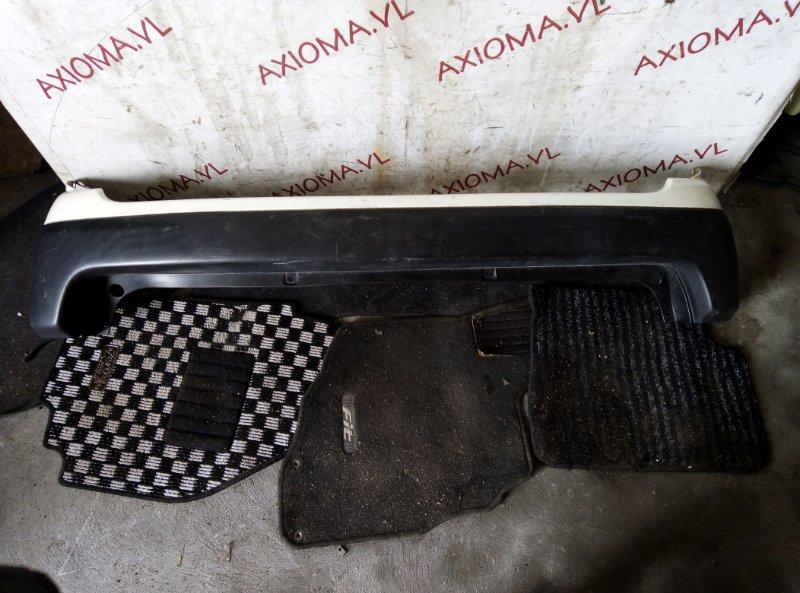 Бампер Toyota Probox NCP160 1NZ 2014 задний
