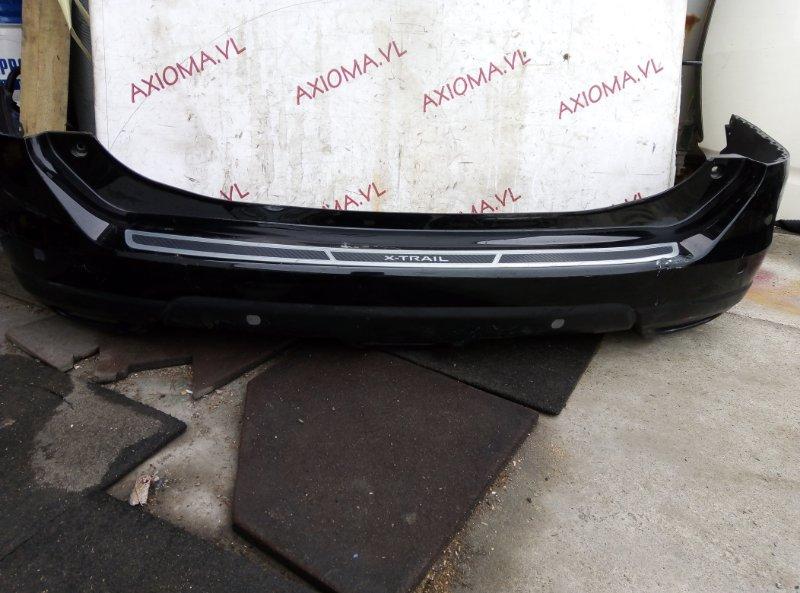 Бампер Nissan X-Trail T32 MR20 2013 задний