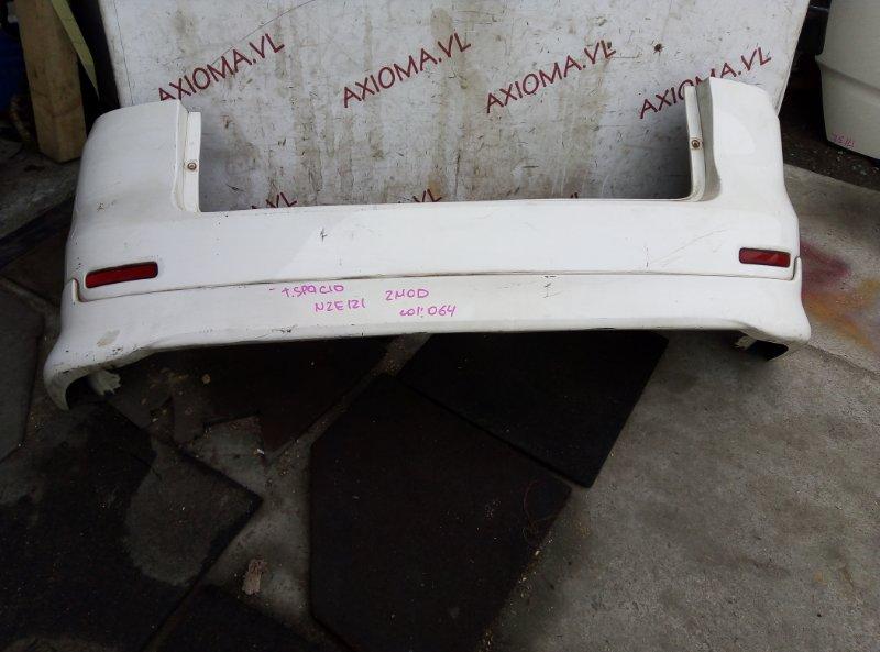 Бампер Toyota Corolla Spacio NZE121 1NZ 2001 задний