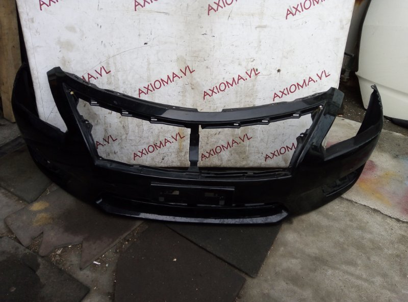 Бампер Nissan Teana L33 QR25 2014 передний
