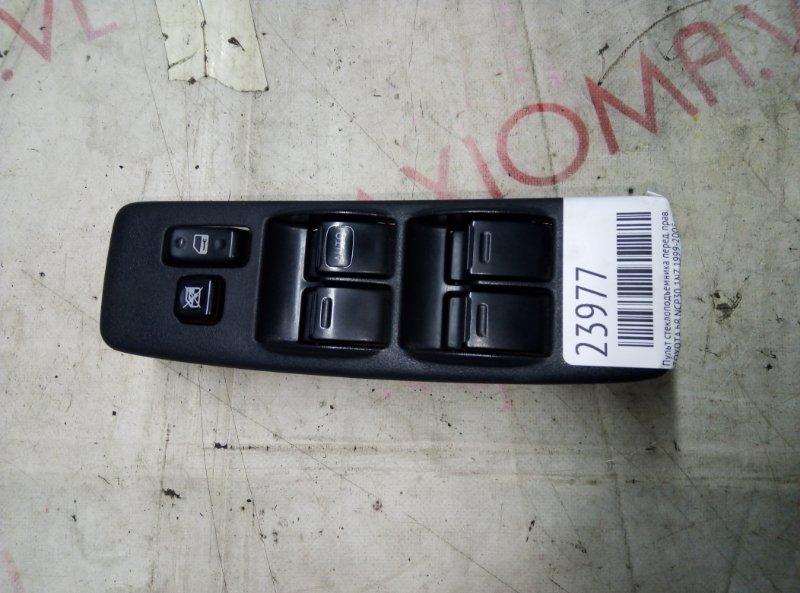 Пульт стеклоподъемника Toyota Bb NCP30 1NZ 1999 передний правый
