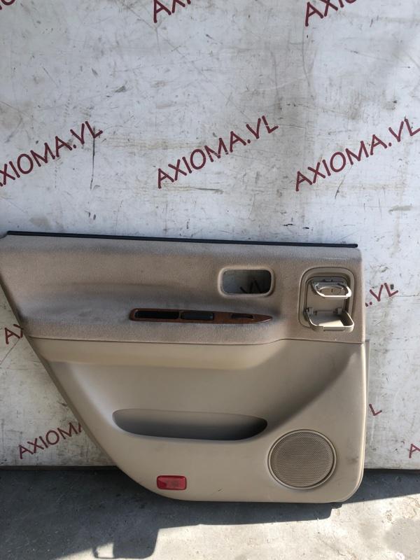 Обшивка дверей Nissan Presage U30 QR25 1998 задняя левая