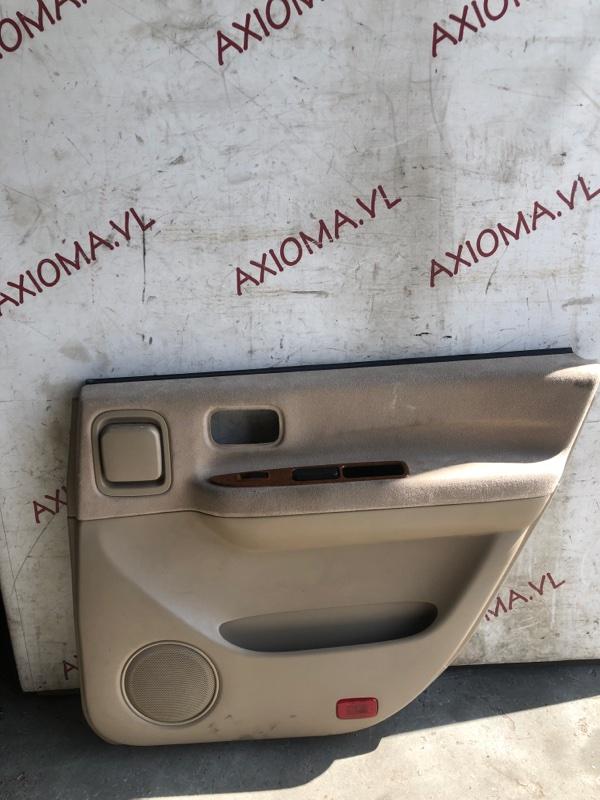 Обшивка дверей Nissan Presage U30 QR25 1998 задняя правая