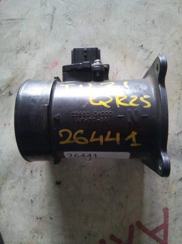 Датчик расхода воздуха Nissan Presage TU31 QR25 2001
