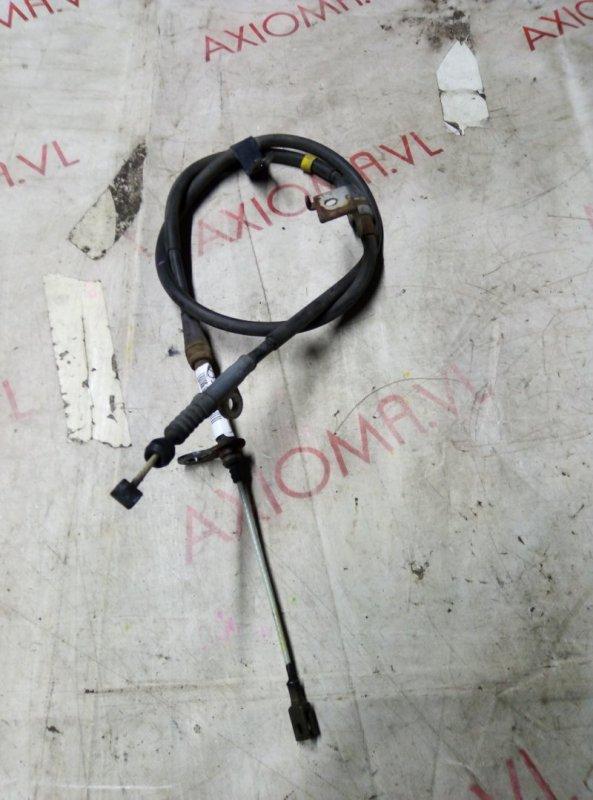 Тросик ручника Nissan Presage U31 QR25 2003 задний правый