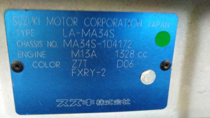 Акпп Suzuki Wagon R Solio MA34S M13A 2003