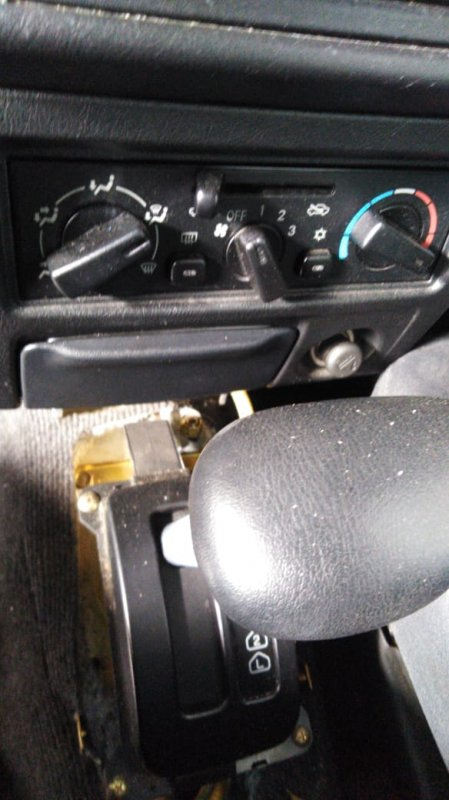 Климат-контроль Mitsubishi Pajero Mini H58A 4A30T 1998