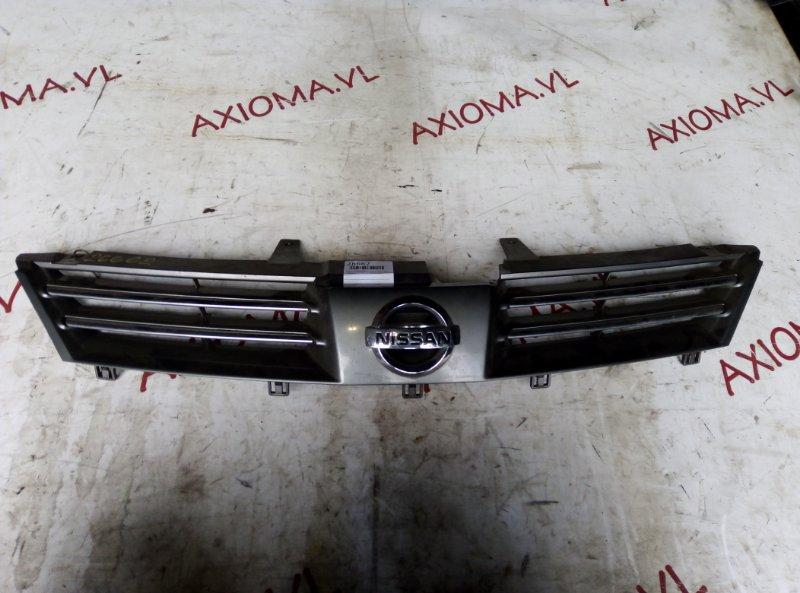 Решетка радиатора Nissan Wingroad Y11 QG18 2001