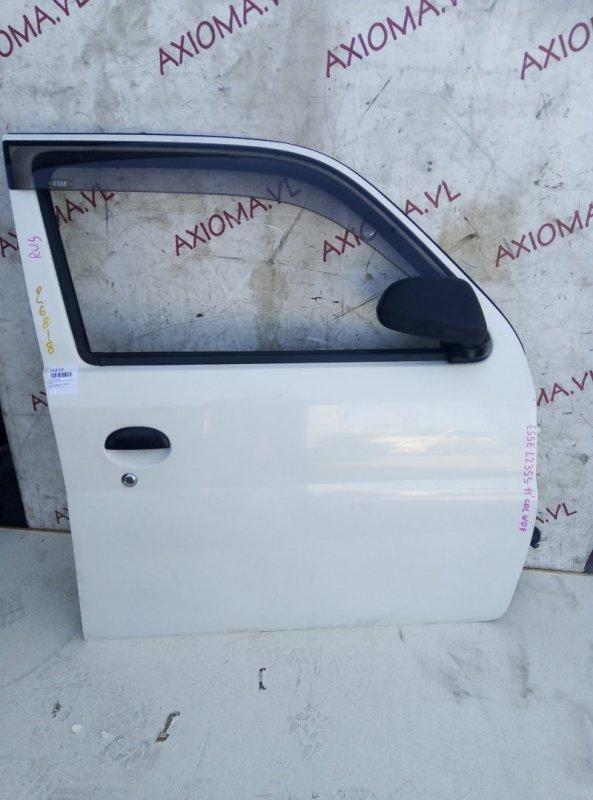 Дверь Daihatsu Esse L235S KF-VE 2005 передняя правая