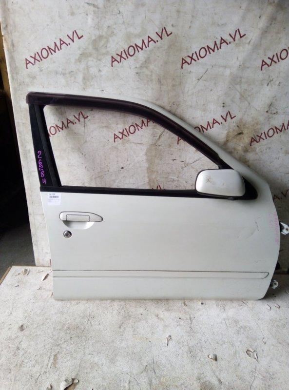 Дверь Nissan Primera P11 QG18 1995 передняя правая