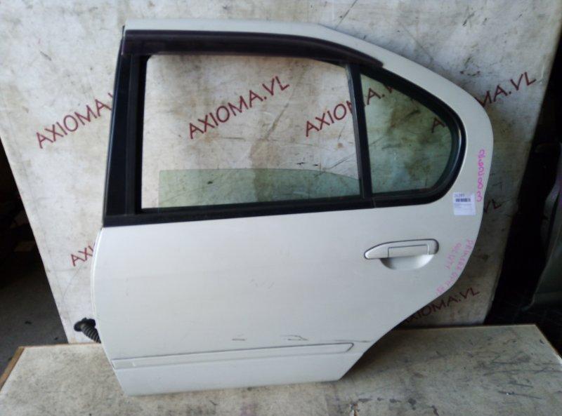 Дверь Nissan Primera P11 QG18 1995 задняя левая