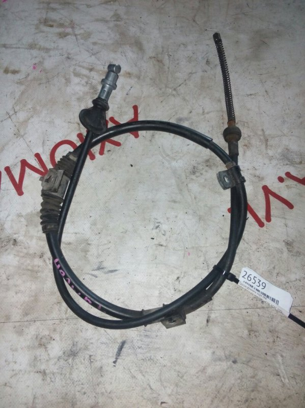 Тросик ручника Mitsubishi Ek Wagon H82W 3G83 2006 задний левый