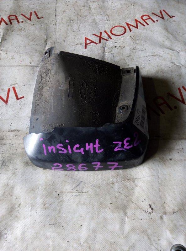 Брызговик Honda Insight ZE2 ECA 1999 задний правый