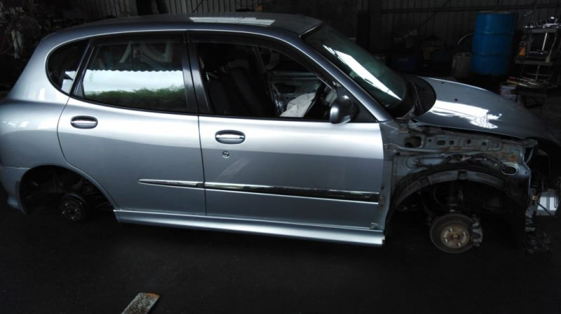 Дверь Toyota Duet M111A EJ 1998 задняя правая
