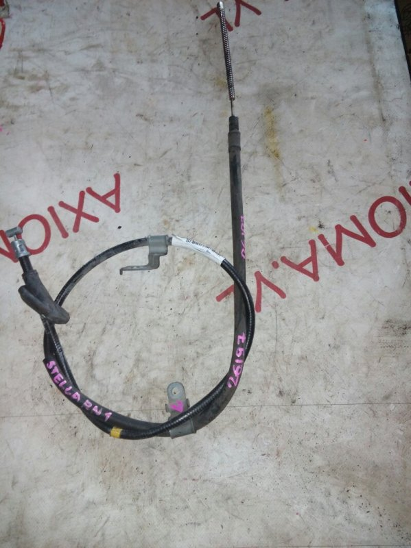 Тросик ручника Subaru Stella RN1 EN07 2006 задний левый