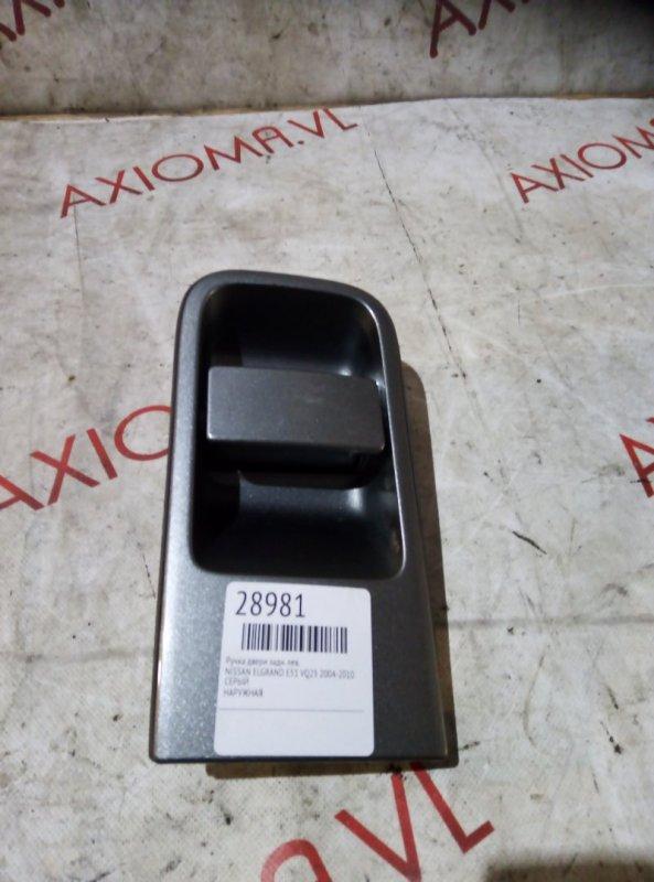 Ручка двери Nissan Elgrand E51 VQ25 2004 задняя левая
