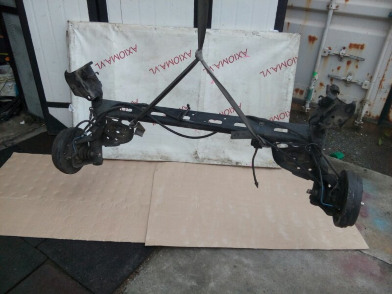 Балка подвески Nissan Wingroad Y12 HR15 2005 задняя