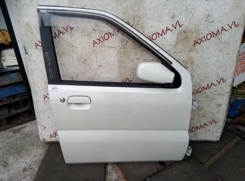 Дверь Suzuki Chevrolet Cruze HR81S M15A 2001 передняя правая
