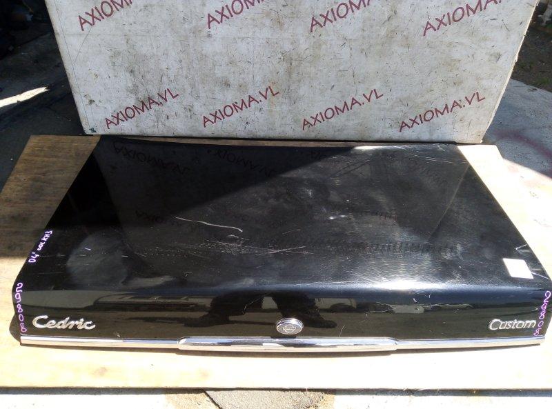 Крышка багажника Nissan Cedric Y31 VG20E 2009