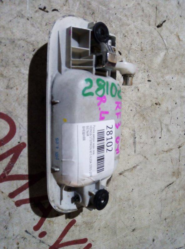 Ручка двери Honda Stepwgn RF3 K20A 2001 задняя левая