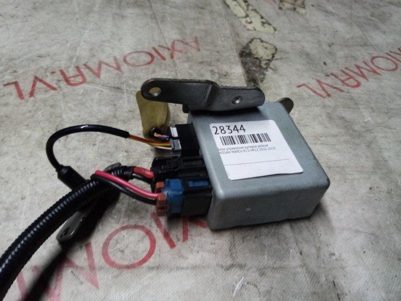 Блок управления рулевой рейкой Nissan March K13 HR12 2010