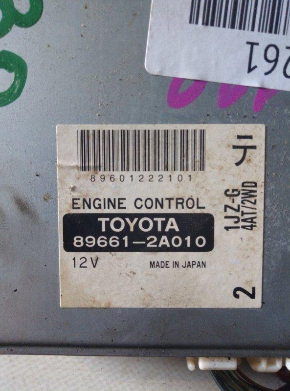 Блок efi Toyota Mark Ii JZX100 1JZ-GE 1996