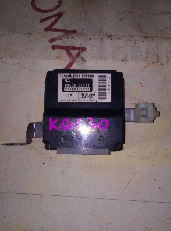 Блок управления акпп Toyota Passo KGC30 1KR 2010
