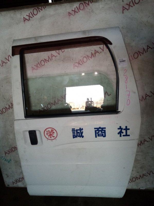 Дверь Daihatsu Hijet S200V KF 2007 задняя левая