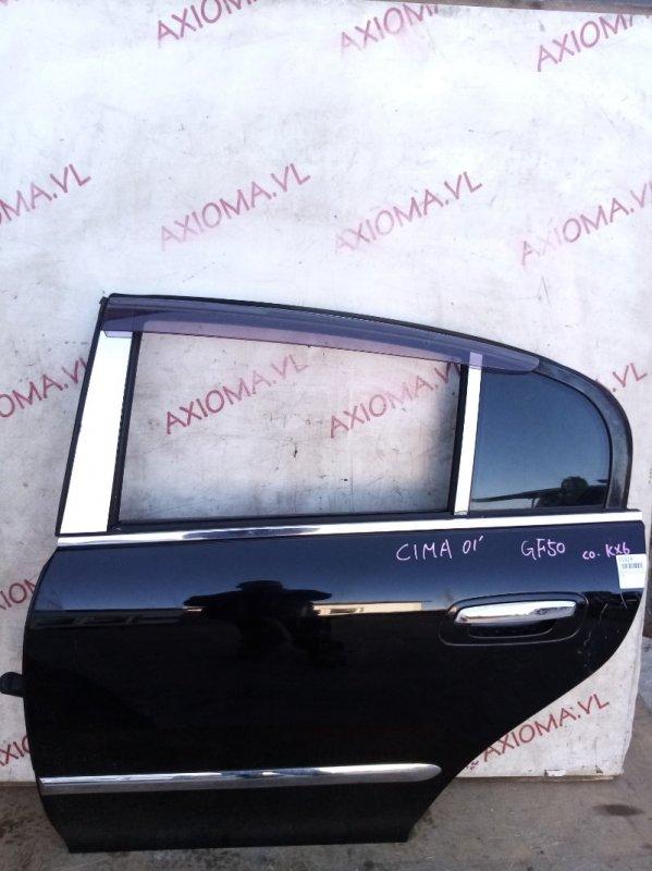 Дверь Nissan Cima F50 VK45 2001 задняя левая