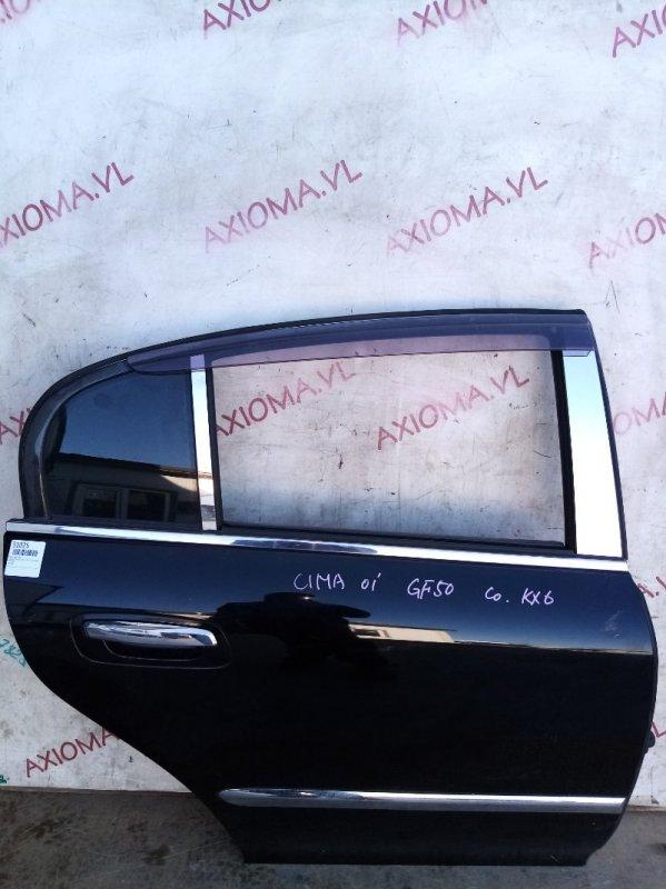 Дверь Nissan Cima F50 VK45 2001 задняя правая