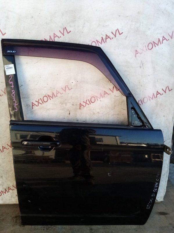 Дверь Suzuki Solio MA15S K12B 2010 передняя правая