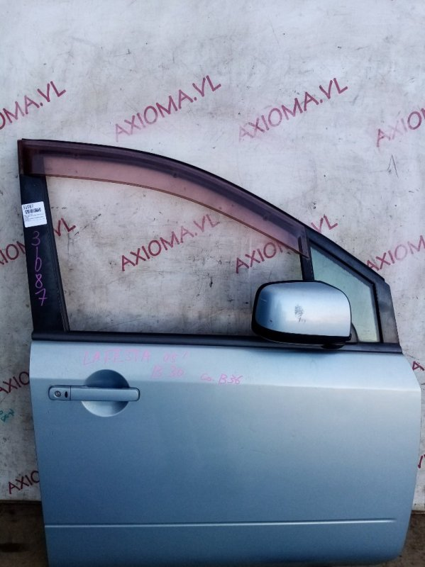 Дверь Nissan Lafesta B30 MR20 2004 передняя правая